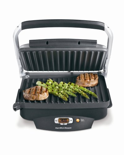 Hamilton Beach Steak Lover's Electric Searing Grill -25331