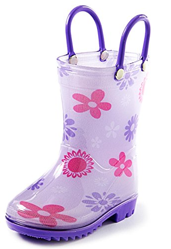 Puddle Play Toddler and Kids Rain Boots