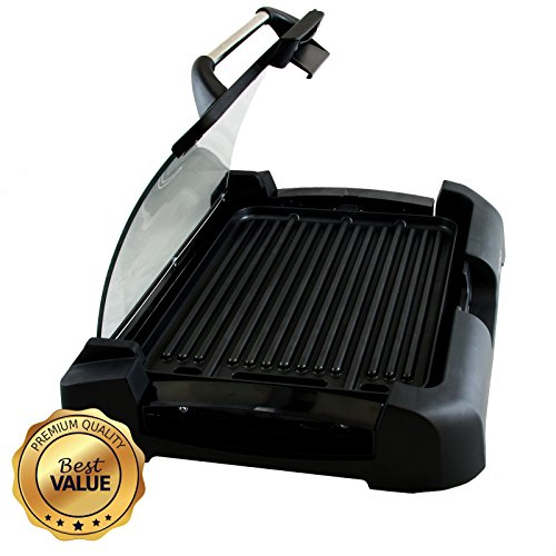 MegaChef Dual Surface Heavy Gauge Indoor Grill & Griddle