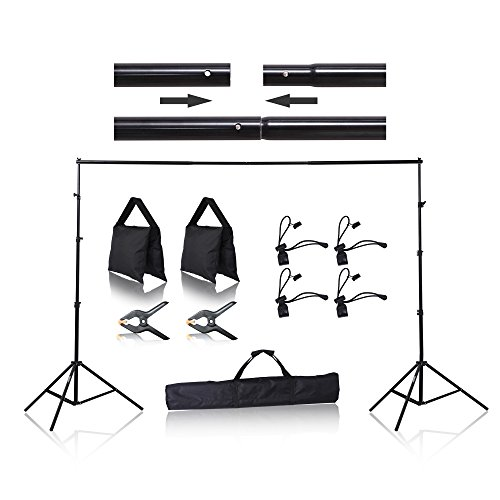Emart 8.5 x 10 Ft Photo Muslin Backdrop Stand