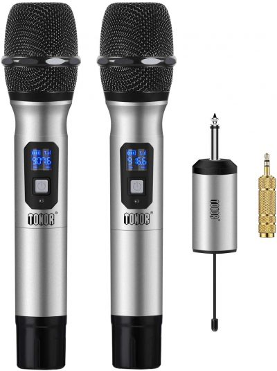 12. TONOR Metal Wireless Microphone System