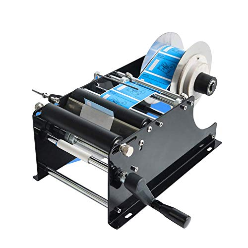 6. Label Applicator with Handle Round Bottle Labeling Machine by Bestpick