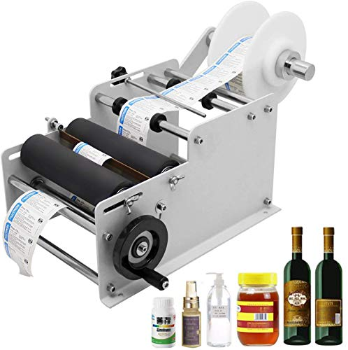 4. Round Bottle Label Applicator Machine by Hanchen