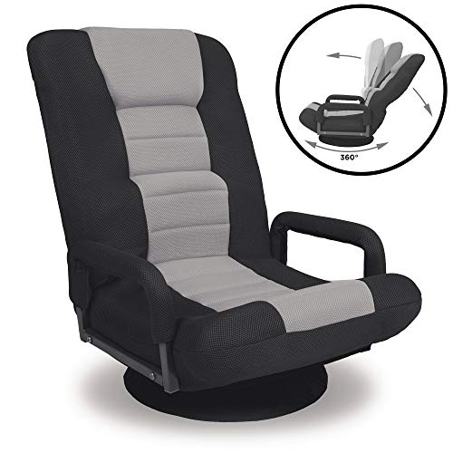 3. 360-Degree Swivel Gaming Floor Chair by Best Choice Products