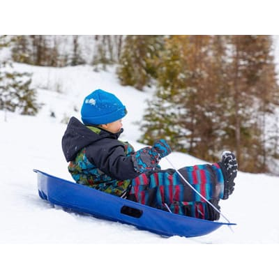 Lucky Bums Kids Plastic Snow Sled